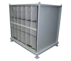 Interior rear plastic cladding packing solution