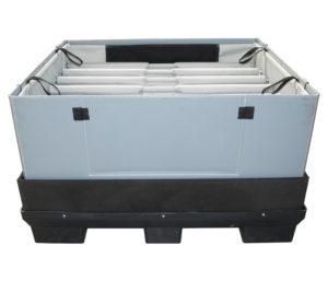 Rear door panel packing solution