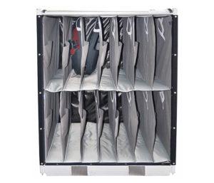 Spredu plnený kontajner pre panel interiérových dverí