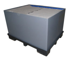 Exterior front plastic component packing solution