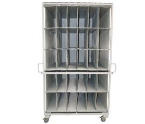 Interior door component packing solution
