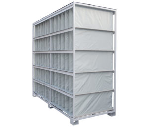 Supermarket goods handling solution
