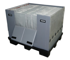 Central engine cover packing solution