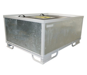 Packing solution for an automotive HVAC components