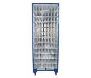 Interior door component sequencing packing solution