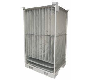 Interior door bottom component packing solution