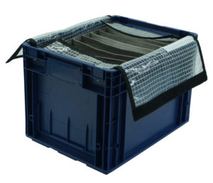 Middle console compartment cover packing solution
