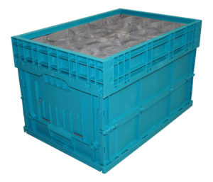 Foldable KLT packing solution